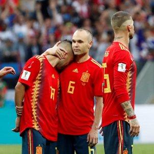 Iniesta Espanya Mundial Rússia 2018 Efe