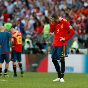 Piqué Espanya Mundial Rússia 2018 Efe
