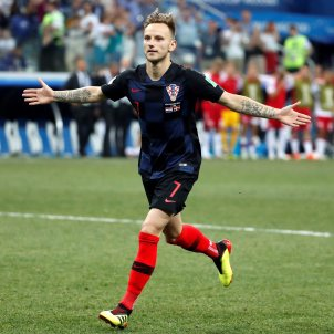 Rakitic Croacia Dinamarca Mundial Russia EFE