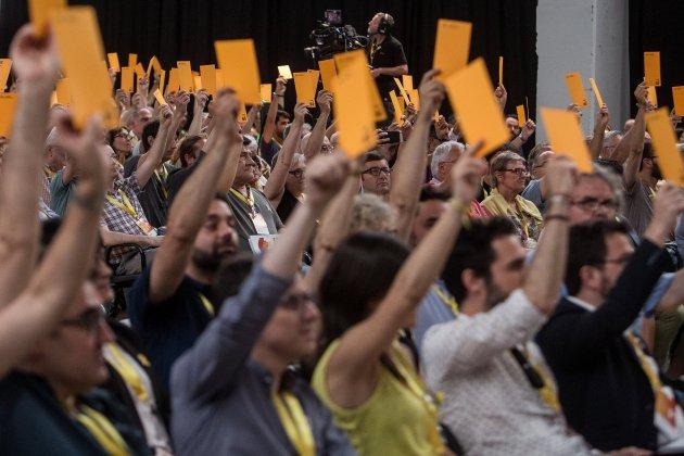 votaciones conferencia nacional ERC - Carles Palacio