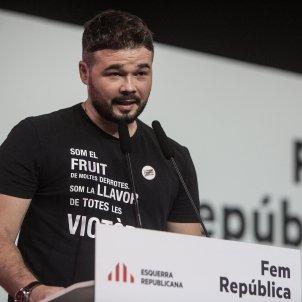 gabriel rufian conferencia nacional ERC hospitalet 2018 - Carles Palacio