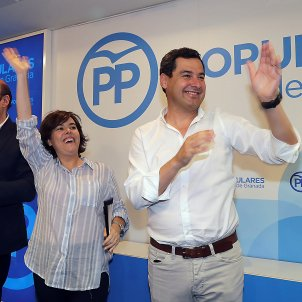 Soraya president PP andalusia Efe