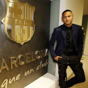 Neymar signatura FCB