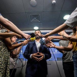 chakir el homrani conseller treball afers socials familia roda de premsa - Carles Palacio
