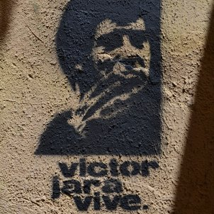 Graffiti de Víctor Jara a Ciutat Vella, València Joanbanjo wikipedia