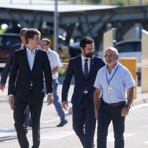 Roger Torrent presó Figueres - Carles Palacio
