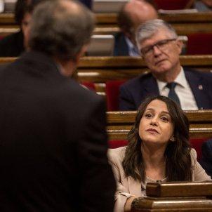 ines arrimadas ciudadanos quim torra parlament de catalunya - Carles Palacio