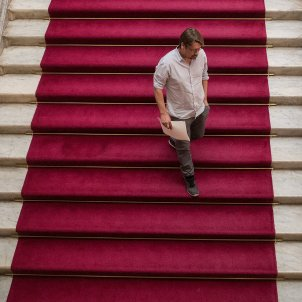 xavier domenech escales parlament catifa vermella - Carles Palacio