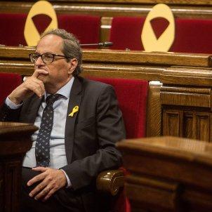 president quim torra llaços grocs parlament de catalunya - Carles Palacio