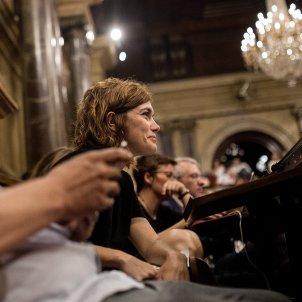 elisenda alamany en comu podem ple del parlament - Carles Palacio