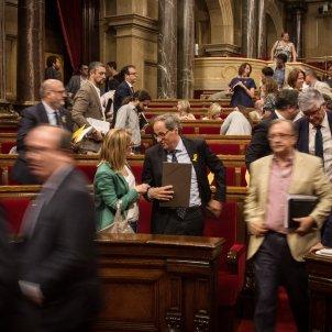 elsa artadi quim torra ple del parlament de catalunya - Carles Palacio