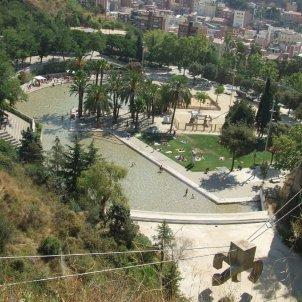 piscina creueta del coll Ajuntament de Barcelona