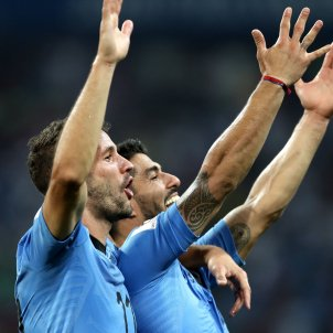 Stuani Suárez Uruguai Portugal Mundial Russia EFE