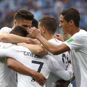 França Uruguai Mundial Russia Pinya EFE