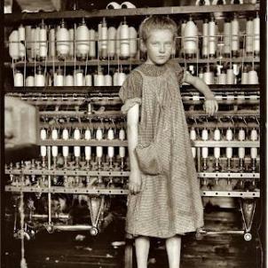 Treballadora infantil. Font Gonçal Mayos