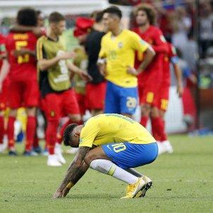 Neymar derrota Brasil Belgica   EFE
