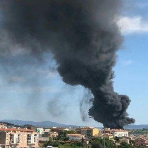 incendi fàbrica matalassos Esparreguera @bomberscat