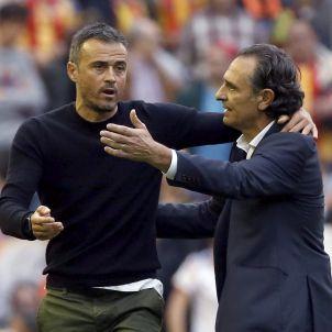 Luis Enrique Prandelli Valencia Barça EFE
