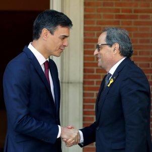 Reunió Torra i Sánchez EFE