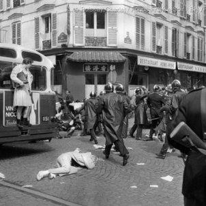 Enfrontaments estudiantils. Jacques Boissay i Bernard Charlet
