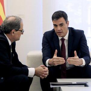 Pedro Sánchez Quim Torra - EFE