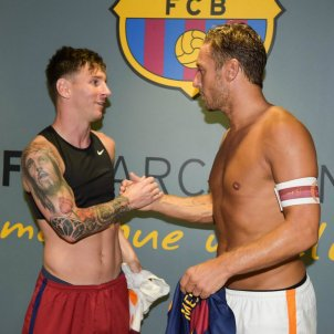 Messi Totti Roma   Twitter