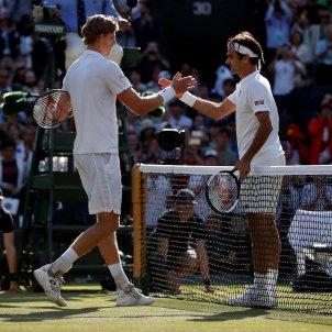 Kevin Anderson Roger Federer Wimbledon tennis Efe