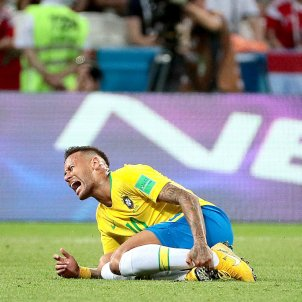 Neymar Brasil teatre Mundial Rússia 2018 Efe