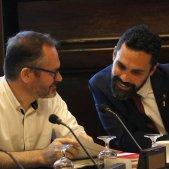 """Els lletrats avalen la substitució """"temporal"""" dels diputats suspesos per Llarena"""