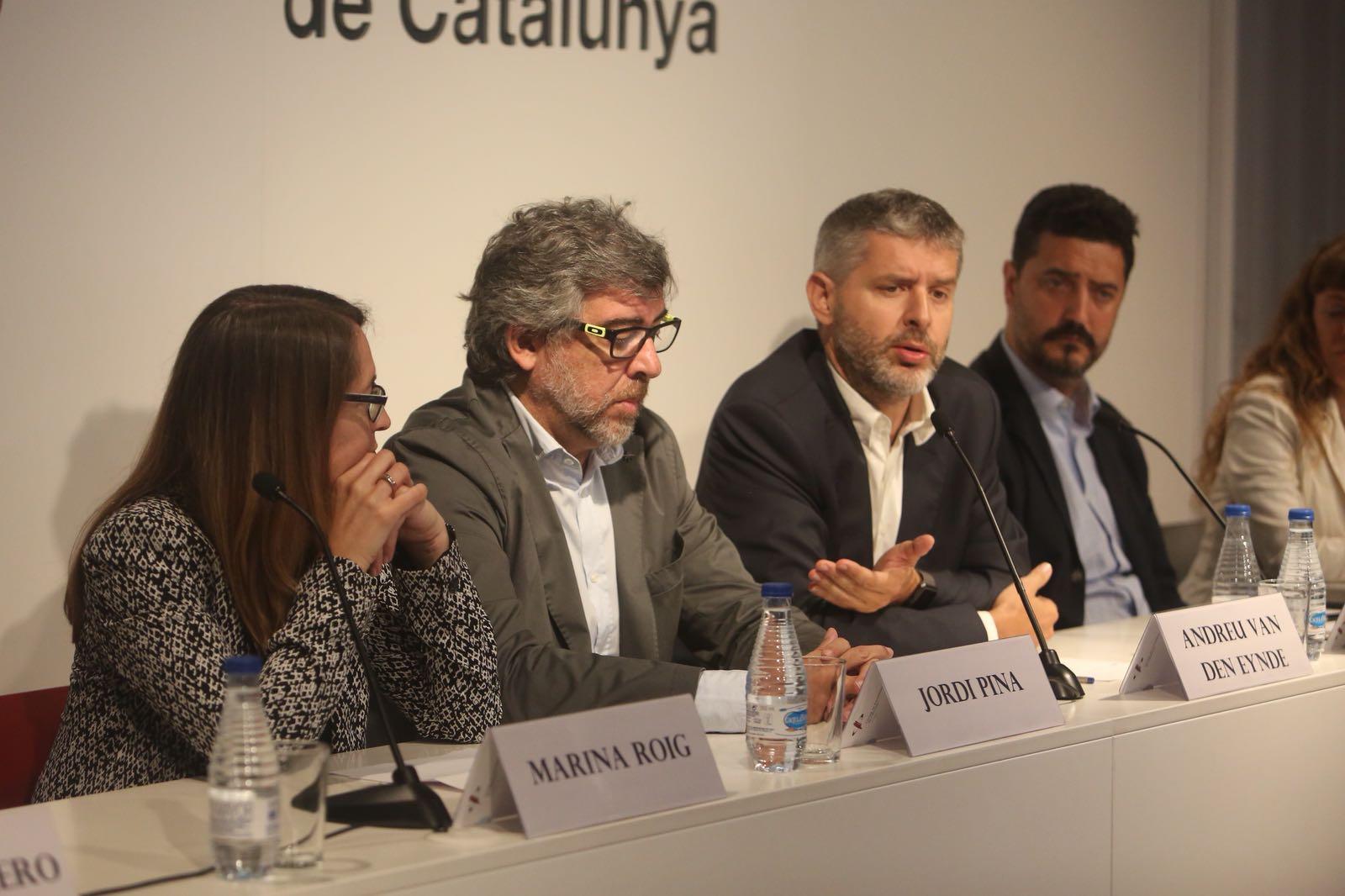 Marina Roig, Jordi Pina, Andreu Van den Eynde Carles Palacio