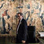 president quim torra despatx taula companys seguiment - Carles Palacio