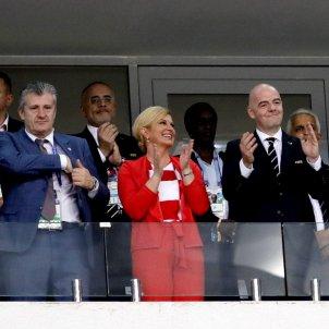 Presidenta Croàcia Kolinda Grabar Kilatrovic Mundial de Rússia   EFE