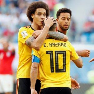 Gol Belgica Hazard Anglaterra Mundial   EFE