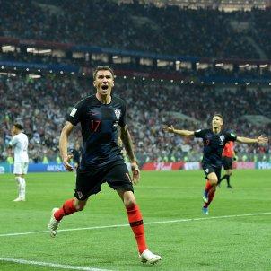 Gol Mandzukic Croacia Anglaterra   EFE