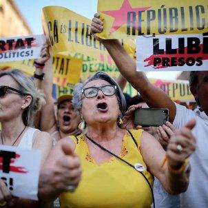Manifestació presos i exiliats - Carles Palacio