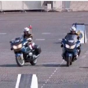 Xoc policia francesa   France Info