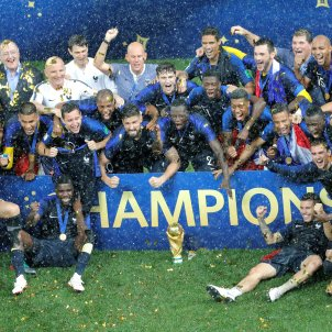 França trofeu Mundial Croacia final   EFE