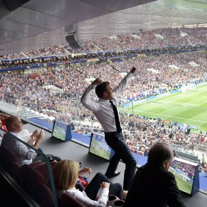 Emmanuel Macron Final Mundial   EFE