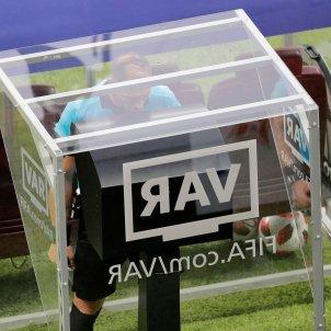 VAR videoarbitratge Mundial Rússia 2018 Efe
