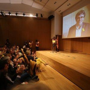 Presentació Carles Puigdemont Crida Nacional - Carles Palacio