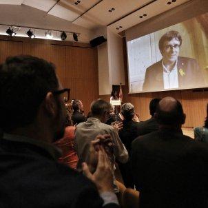 Carles Puigdemont presentació Crida Nacional - Carles Palacio