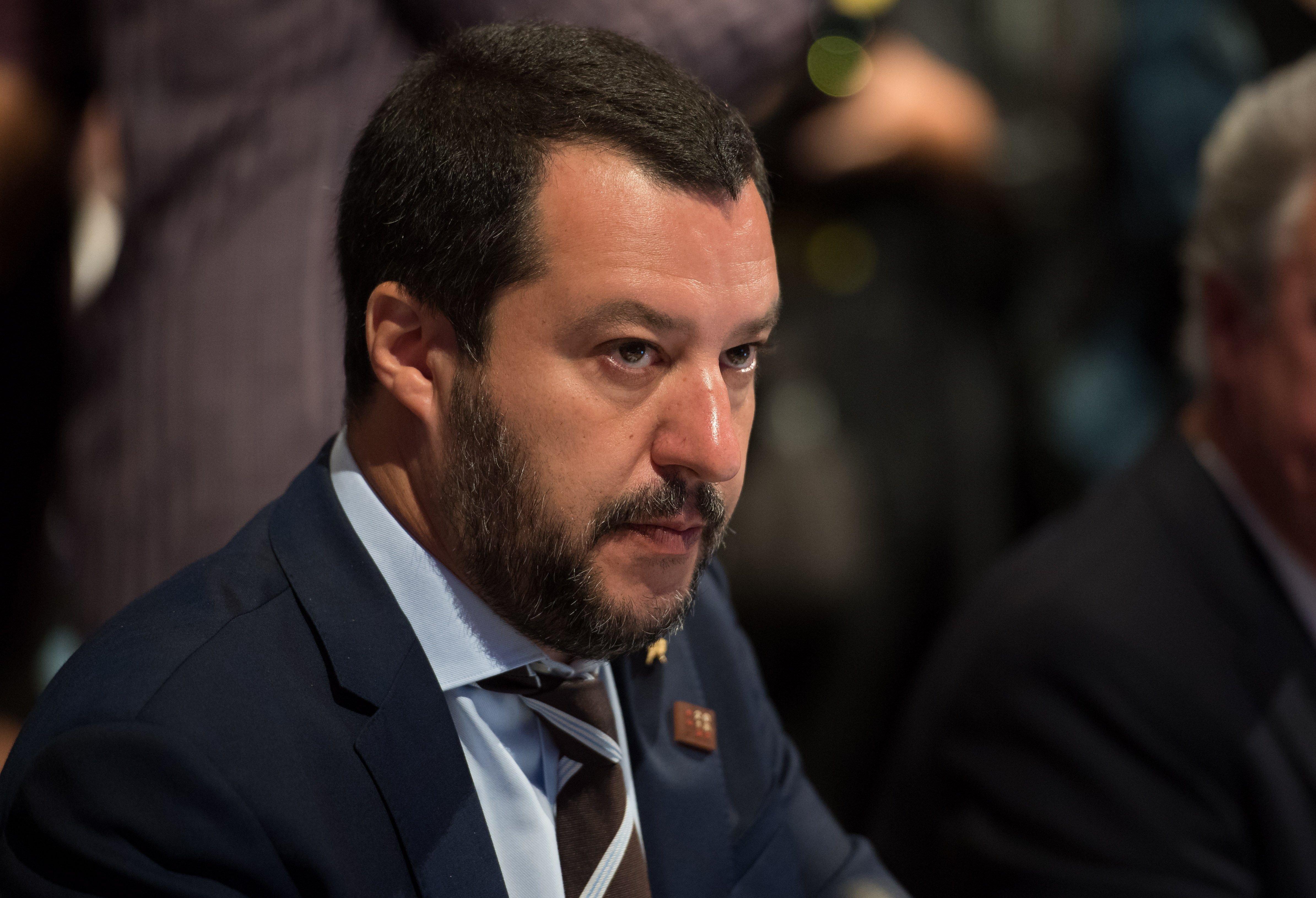 Ministre d'Interior d'Itàlia Mario Salvini. EFE