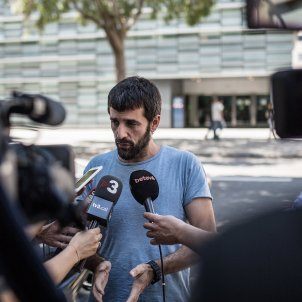 jordi borras declaracio comissaria les corts barcelona agresio feixista (bona qualitat) - Carles Palacio