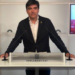 sergi sabrià ERC faristol parlament Nicolas Tomás