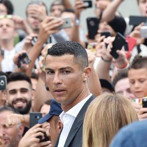 Cristiano Ronaldo rebuda Juventus Torí fitxatge   EFE