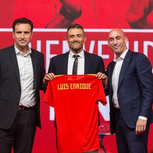 Luis Enrique presentació Espanya   EFE