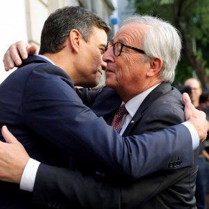 Pedro Sanchez Juncker - EFE