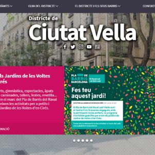 webs districte ajuntament de Barcelona