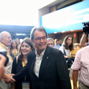 Artur Mas assemblea PDECAT -Carles Palacio