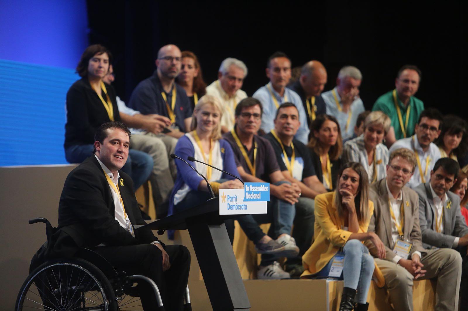 David Bonvehí assemblea PDeCAT   Carles Palacio